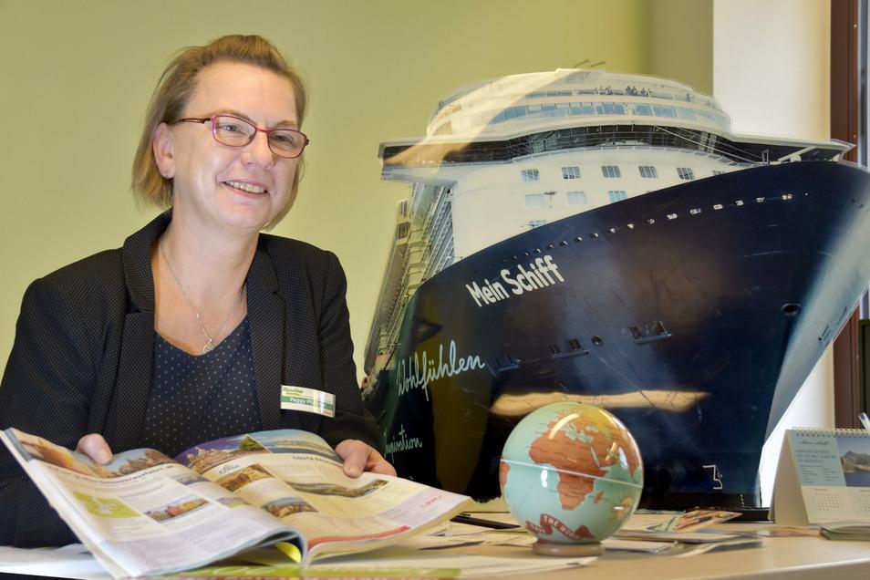 Die Rödertaler seien alles andere als reisemüde in diesen Tagen, so Peggy Pfützner vom Radeberger Reisebüro Schmolling. So manchen zieht es auf eine Kreuzfahrtreise.
