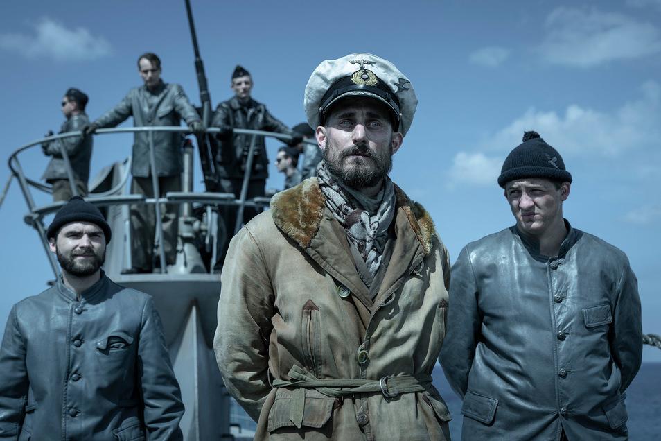 Kommandant Johannes von Reinhartz (Clemens Schick, M.) will sein U-Boot an die Amerikaner ausliefern.