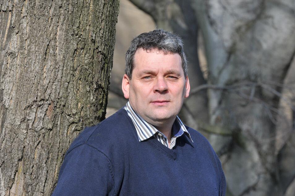 Michael Görke will Bürgermeister in Kottmar bleiben. Am 23. Februar werden die Einwohner an die Wahlurne gebeten.