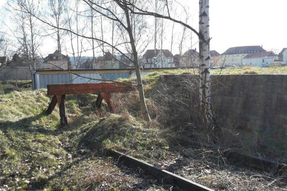 Die letzten Zeugnisse der Bahn durch Heidenau, die Industriegeschichte schrieb.