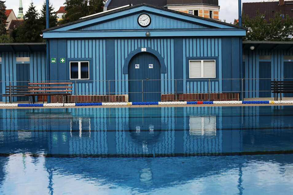 Corona hat dem Stadtbad in Radeberg die Saison verhagelt. Es kamen nur 30.000 Besucher.