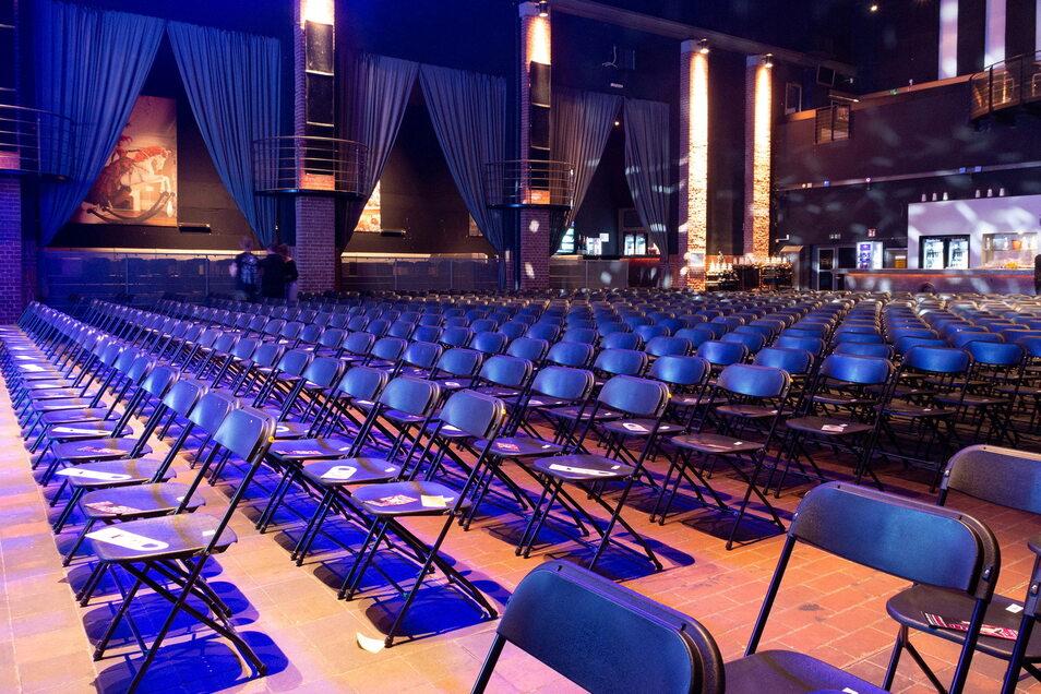 Fast 650 Sitzplätze und 1.400 Stehplätze bietet die neue Kulturarena.