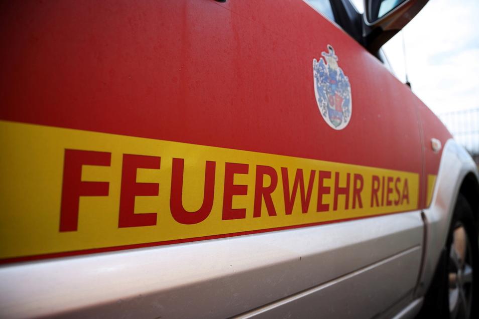 Die Riesaer Feuerwehr musste Donnerstagfrüh an die Goethestraße ausrücken.
