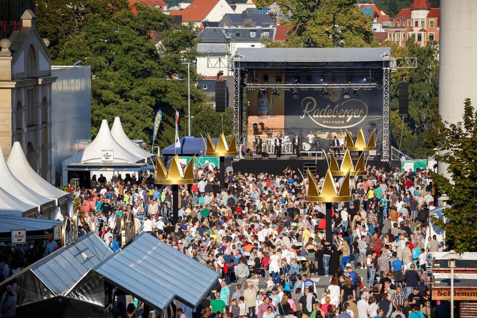 In Radeberg wird am Sonnabend das Brauereifest gefeiert.