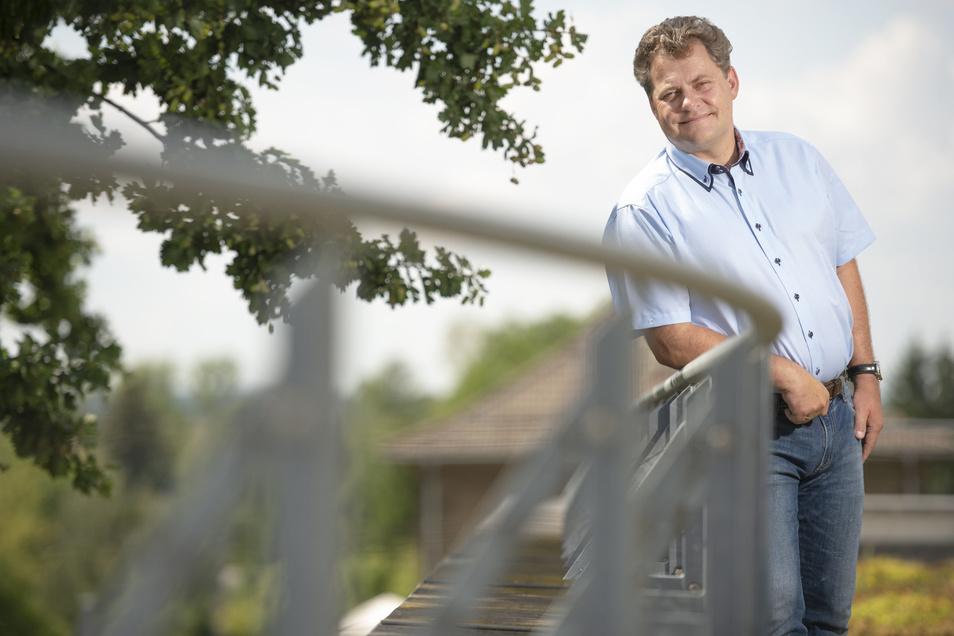 Thomas Schubert ist seit 2007 schon Bürgermeister und seit 2000 als Kämmerer für die Stadtfinanzen zuständig. Nun würde er gern den Posten von Frank Neupold übernehmen.