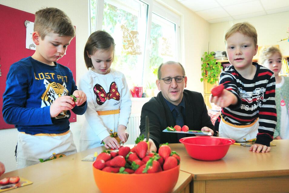 Wie gut werden Kinder in den Tagesstätten der Gemeinde Ebersbach betreut? Eine Umfrage brachte Hinweise fürs Qualitätsmanagement.