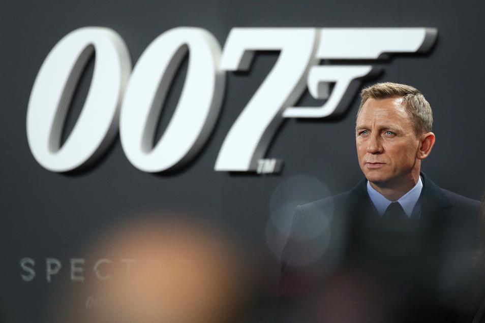 Daniel Craig wird wieder in die Rolle des James Bond schlüpfen.