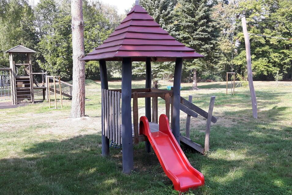 Ein ähnliches Spielgerät soll auf dem Herzogswalder Spielplatz aufgestellt werden.