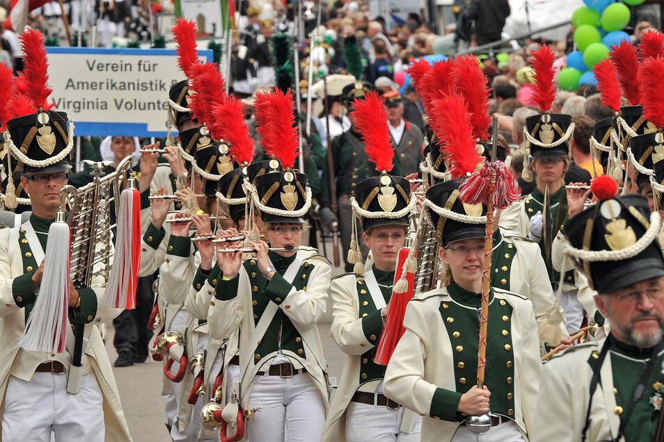 Zum Tag der Sachsen kommen jährlich Zehntausende Besucher.