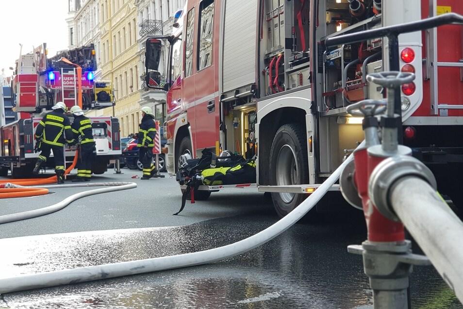 Die Feuerwehren bekamen den Brand schnell in den Griff.