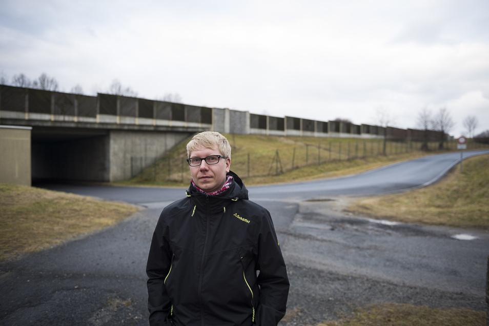 Mario Conrad ist Ortschaftsrat in Ludwigsdorf/Ober-Neundorf. Dort sollen die Bürger in die Arbeit einbezogen werden.