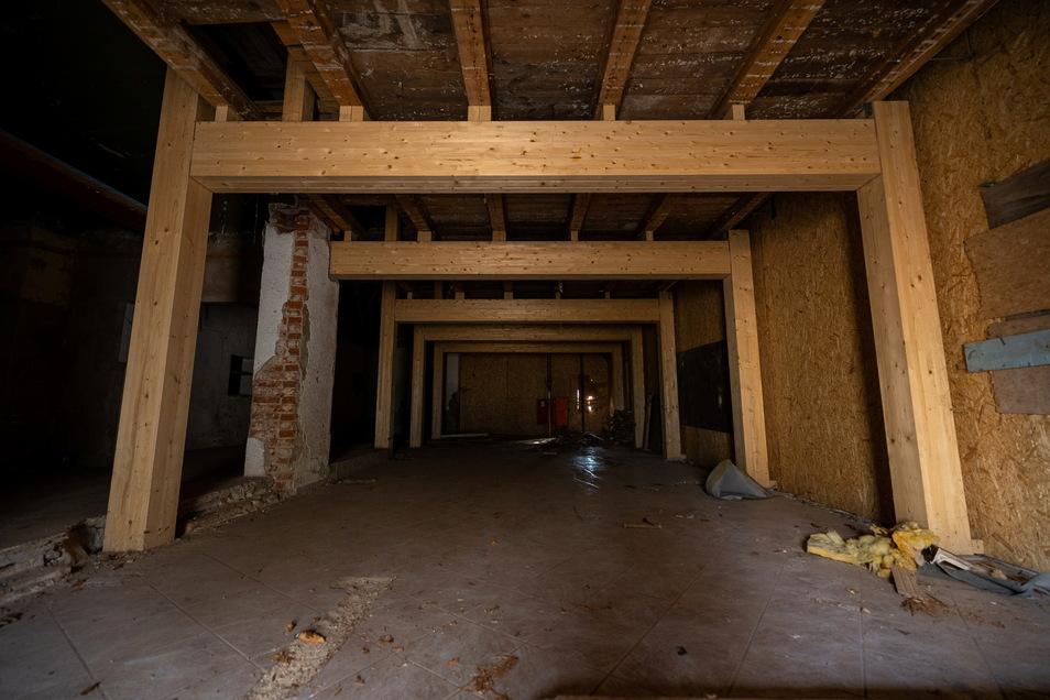 Wer die Baude von Innen gesehen hat, weiß, warum sie abgerissen wird...