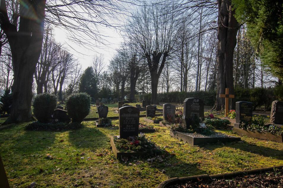 Auch die Friedhöfe sind von der Pandemie betroffen.