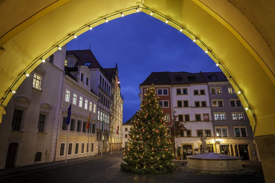Auch beim Weihnachtsschmuck im Stadtbild hat sich die Stadt dieses Jahr besonders viel Mühe gegeben.