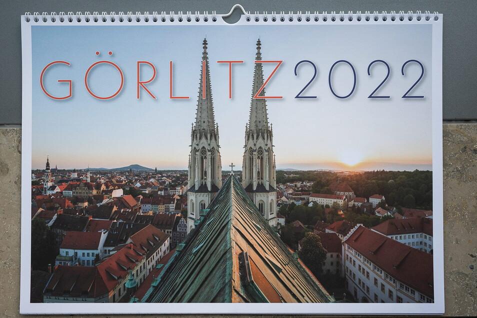 So sieht er aus der neue Görlitz-Kalender von der SZ mit Aufnahmen von Nikolai Schmidt.