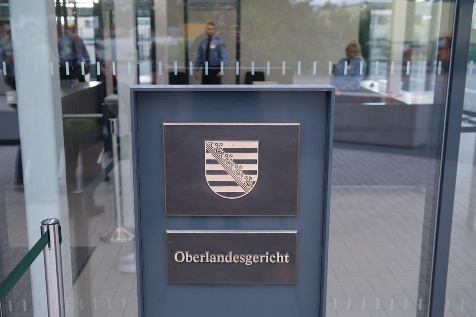 Das Oberlandesgericht in Dresden.