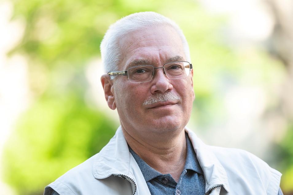 Christian Lange ist der neue Vorsitzende des Seniorenbeirates in Görlitz. Sein Amtsverständnis ist ein anderes, als es Frau Mohr hat.