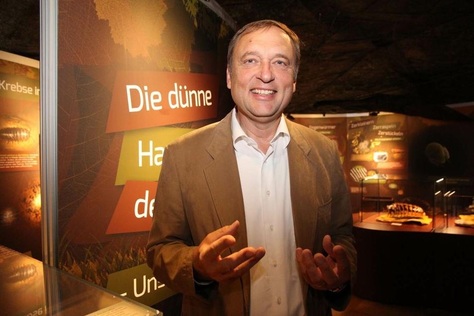 Prof. Dr. Willi Xylander ist Direktor des Senckenberg Naturkundemuseums Görlitz und leitet die Abteilung Bodenkunde.