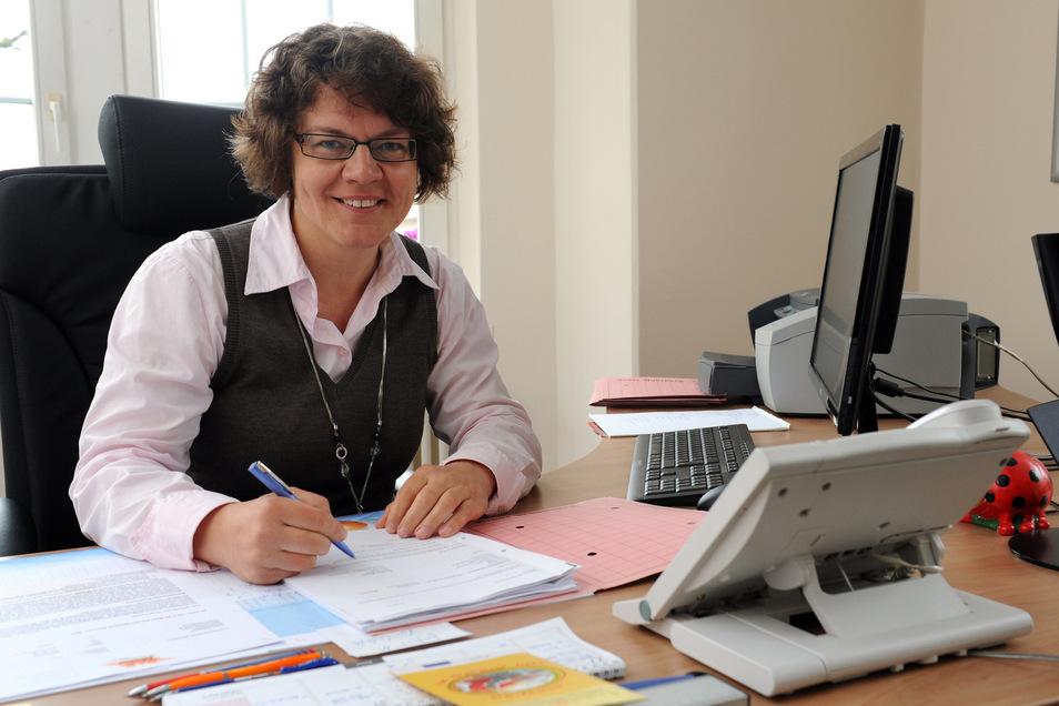 Michaela Ritter bewirbst sich wieder um das Amt der Bürgermeisterin in Radeburg – als einzigste.