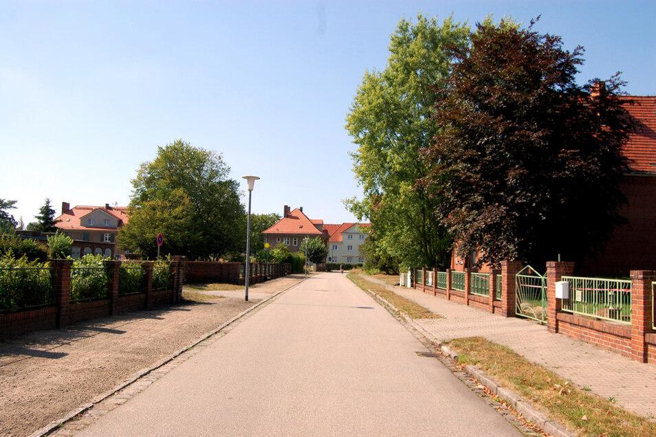 Die Laubuscher Kolonie entstand als Werkssiedlung nach Plänen des Architekten Ewald Kleffel.