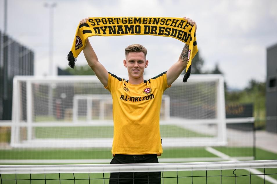 Er habe Dresden und Dynamo im zurückliegenden Jahr lieben gelernt, meint Julius Kade nach seinem Wechsel.
