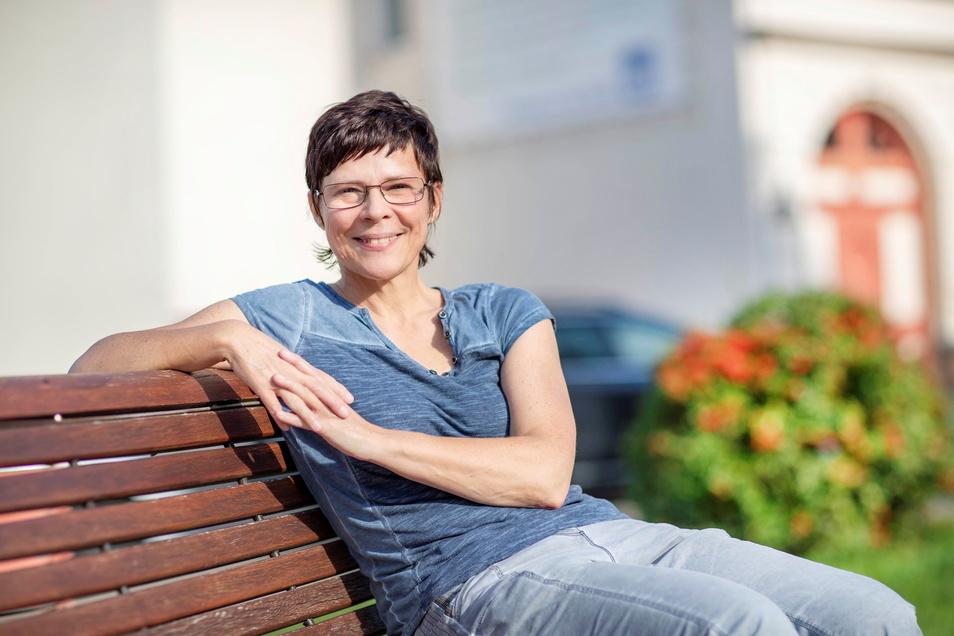 Michaela Steuer war 2020 noch Bürgermeisterkandidatin für Stauchitz. Jetzt ist sie im Gemeindeamt Ostrau.