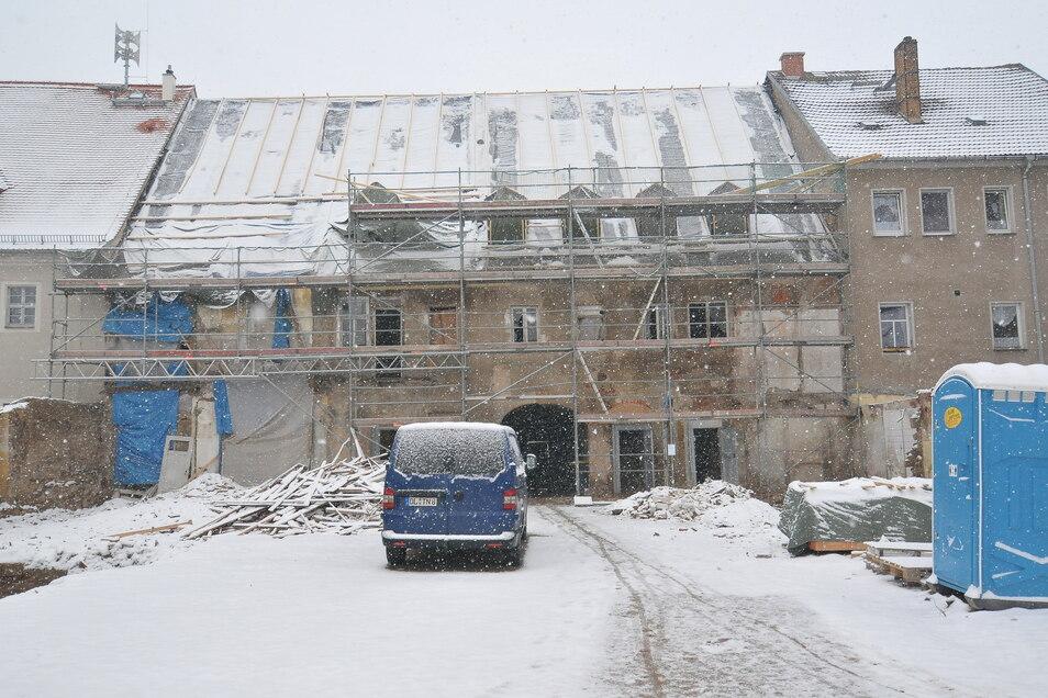 Insgesamt rund 1,3 Millionen Euro kostet die Sanierung des Hauses am Markt 5.