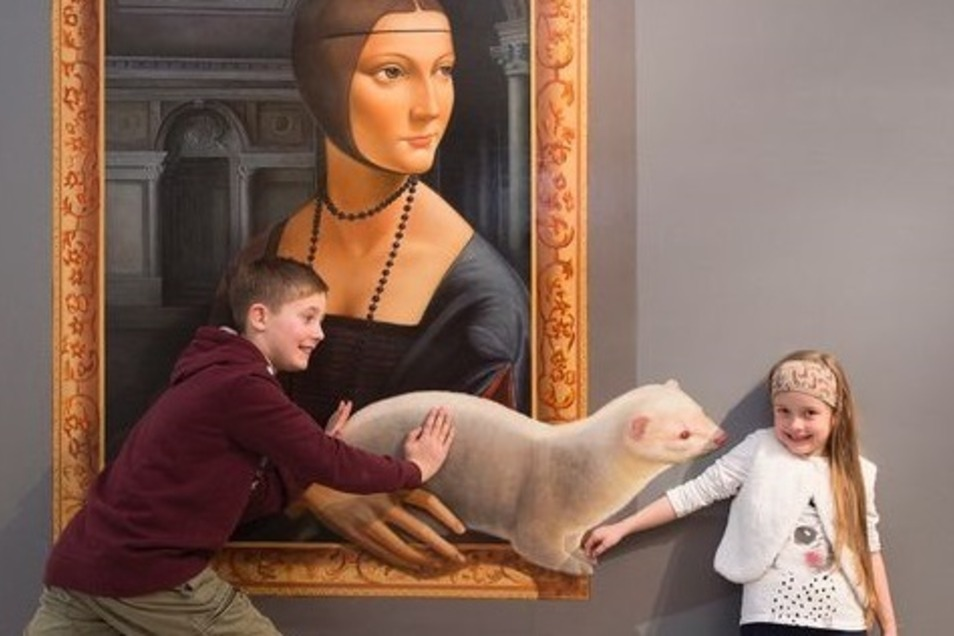 Kunst zum Mitmachen bieten Illusionen aus China, die in der Abrechtsburg Meissen zu sehen sind.