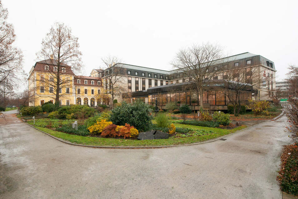 Das Hotel Bilderberg Bellevue an der Großen Meißner Straße steht jetzt auf der Liste der sächsischen Kulturdenkmale.