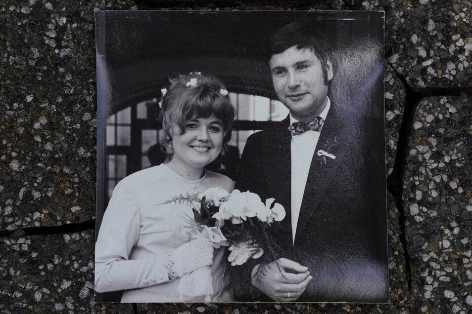 1973 heirateten Milena und Detlef Knoll auf der Prager Burg.