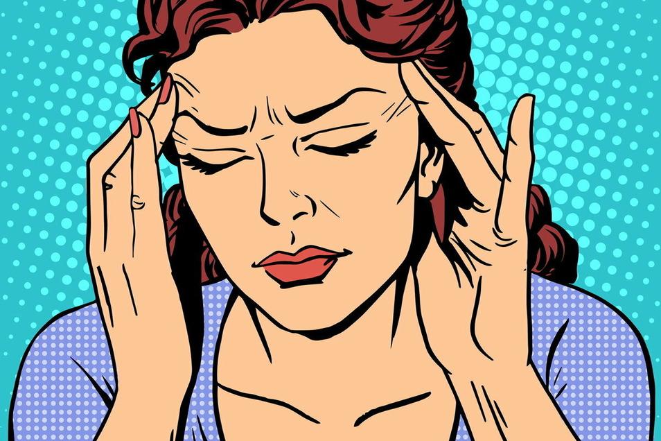 Einfach ausgeschaltet. Wer unter Migräne leidet, kennt viele Tage, an denen gar nichts geht. Doch nicht nur Kopfschmerzen gehören zu der Erkrankung. Migräne geht auch unter die Haut.