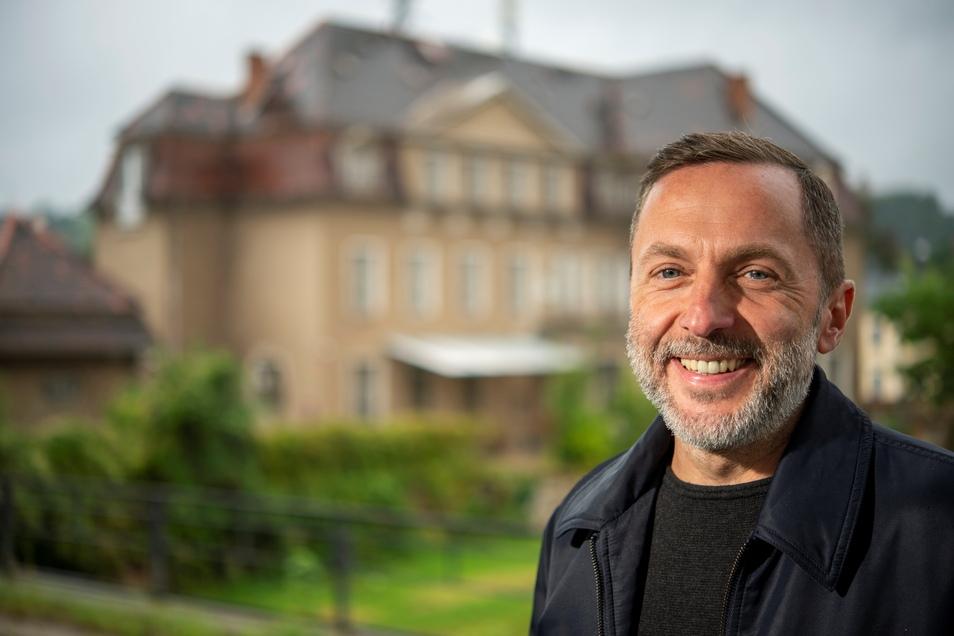 In der Alten Post fanden anderthalb Wochen lang Dreharbeiten für den Dresden-Tatort statt. Das Gebäude als Filmkulisse machte das Team von Jens Noack ausfindig. Er ist Chef einer Locationscout-Firma.