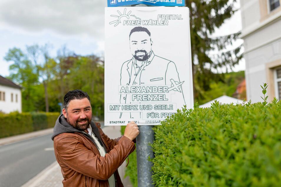 Zur Wahl 2019 noch als Freier Wähler aktiv jetzt ausgetreten: Alexander Frenzel.