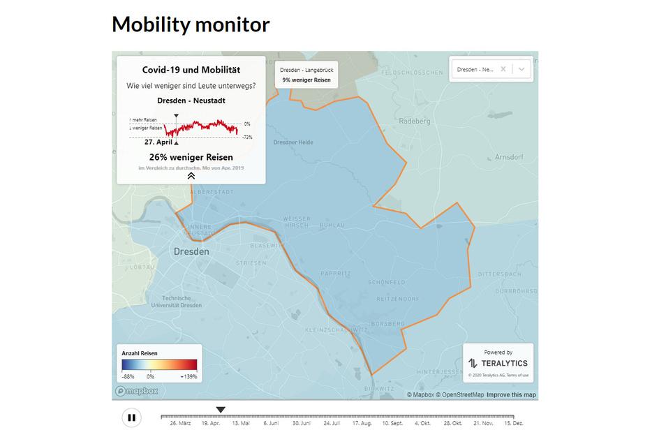 Der Mobilitäts-Monitor bildet jeden Stadtteil ab.