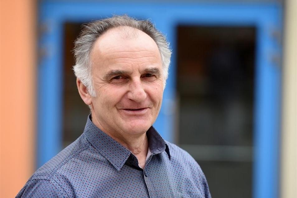Hans-Jürgen Gerk ist seit 1990 Schulleiter der Pestalozzi-Schule in Löbau.