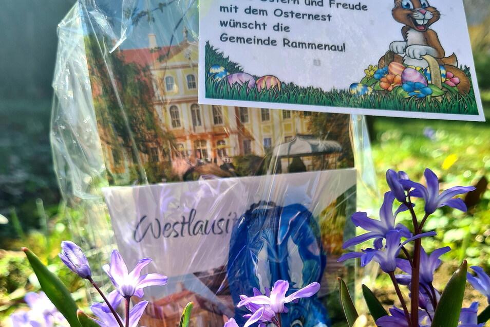 Die Gemeinde Rammenau versteckt Osternester.