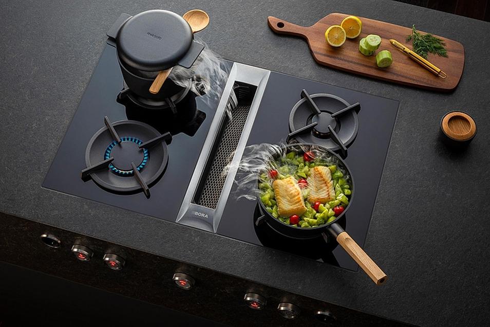 Mit Technik von Bora wird perfektes Kochen noch einfacher. Im Küchenzentrum Dresden berät man gern dazu.