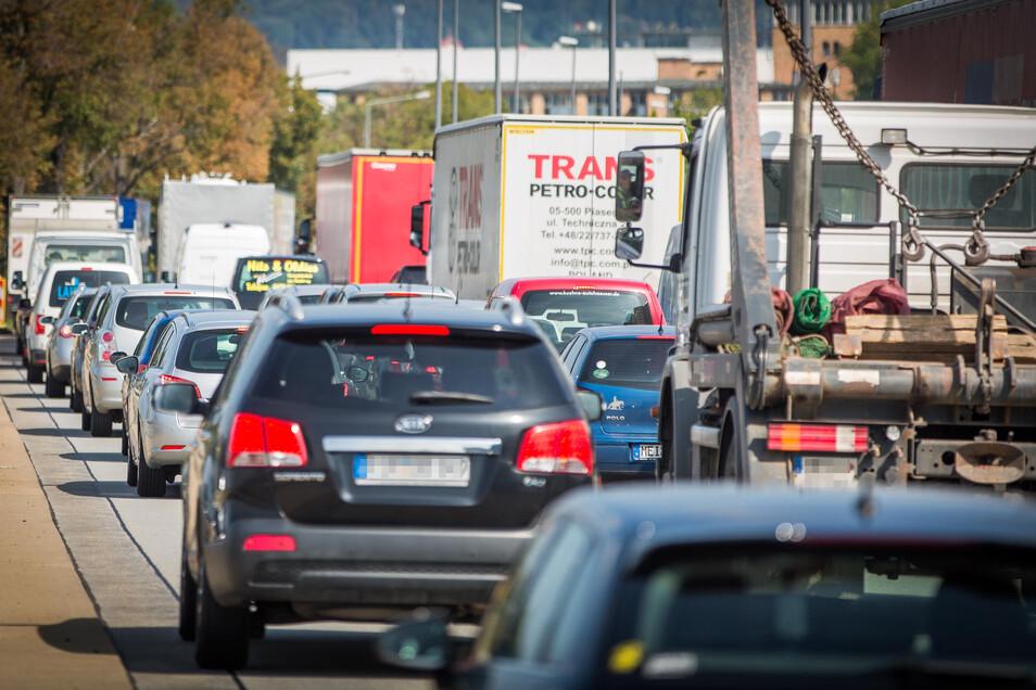 In Richtung Elbepark müssen Autofahrer viel Geld aufbringen.