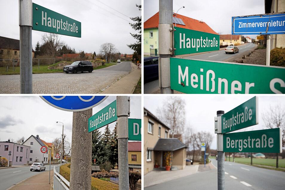 Gleich sieben Hauptstraßen gibt es in der Gemeinde, wie hier in Groptitz, Panitz, Seerhausen und Stauchitz. Das soll sich nun ändern.
