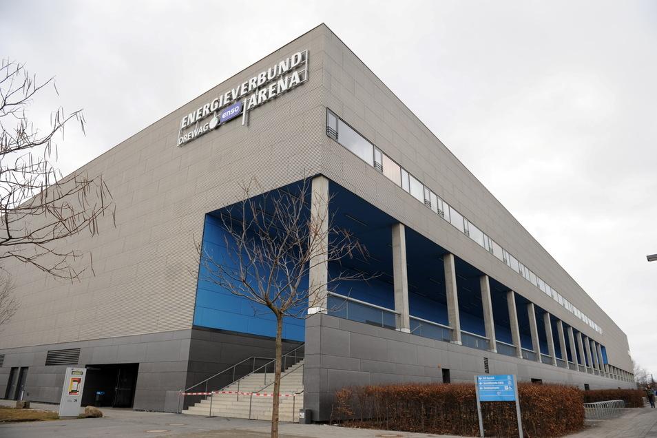 Die Dresdner Eishalle bekommt für 200.000 Euro eine neue Schutzbande.