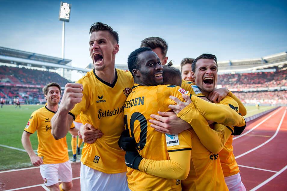 Damals war's... Am 29. Januar 2017 gewann Dynamo zum bislang einzigen Mal gegen den 1. FC Nürnberg. Gibt es diesmal wieder Grund zum Jubeln und gar den ersten Heimsieg gegen die Franken?