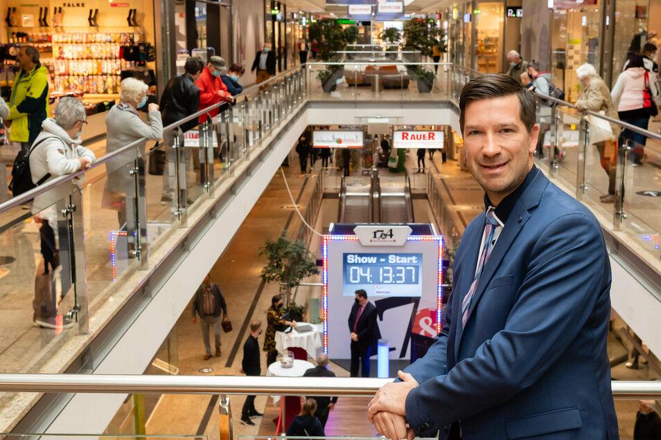 In 20 Jahren Kornmarkt-Center hat sich einige verändert: Es gab mehrere Mieterwechsel, zahlreiche Umbaumaßnahmen. Center-Manager Christian Polkow zieht im Interview Bilanz.