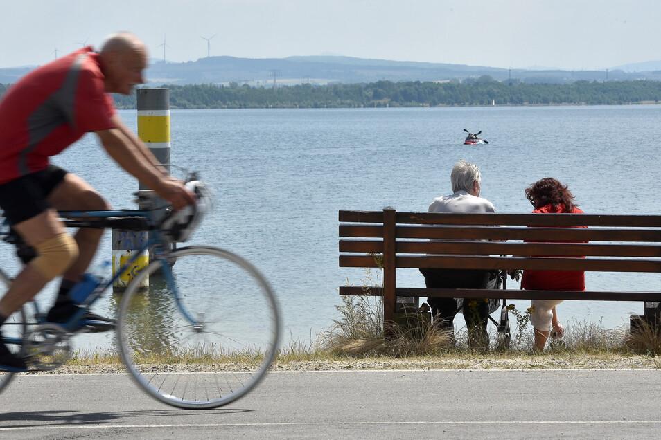 Der Rundweg am Nordstrand bleibt öffentlich.