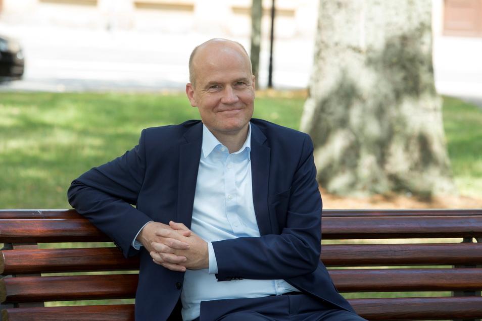 Das war vor einem Jahr: Der CDU-Bundestagsfraktionschef Ralph Brinkhaus kam nach Riesa, um Geert Mackenroth im Landtags-Wahlkampf zu helfen. Am Ende mit Erfolg. Diesmal unterstütze er Sebastian Fischer im Bundestagswahlkampf.