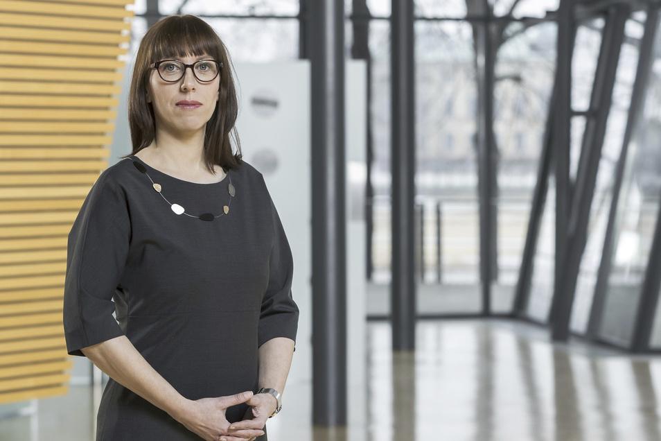 Grünen-Kandidatin Katja Meier erreicht einen Wert von 8 Prozent.