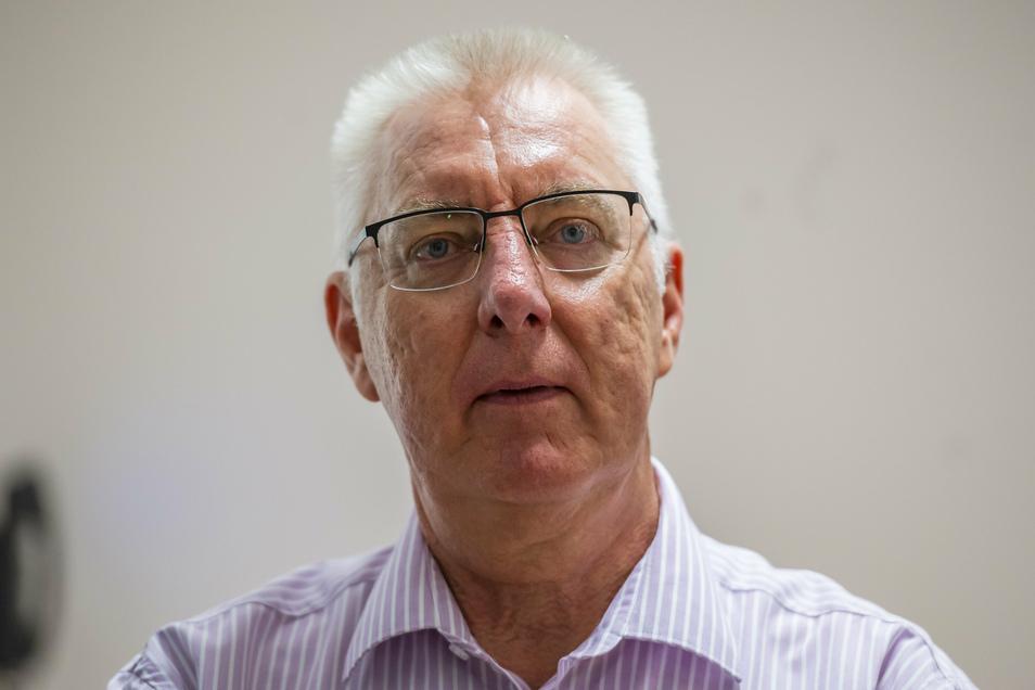 """Kripo-Chef Volker Lange hat vollstes Vertrauen in Technik und seine Mitarbeiter: """"Das System ist betrugssicher"""", sagt er."""