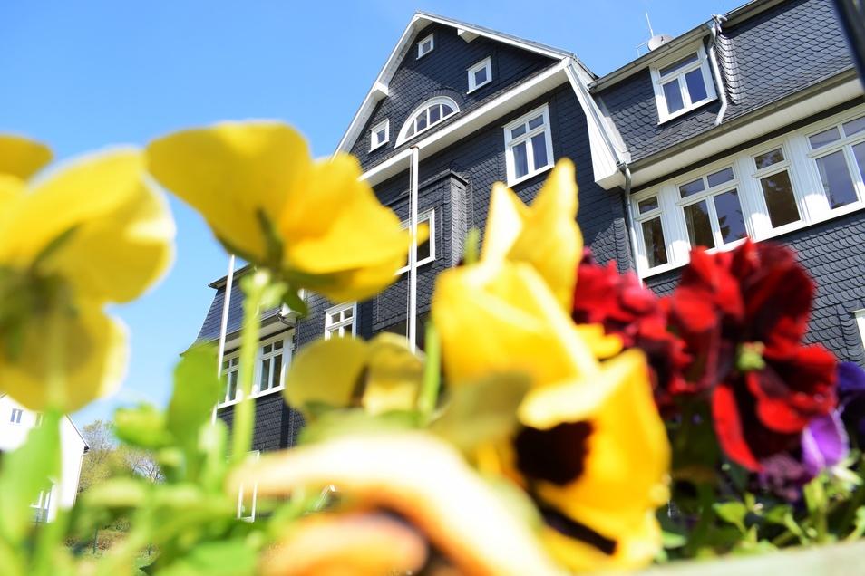 Das Hotel Schiefernhof lädt zum Entspannen mitten im Thüringer Wald ein.