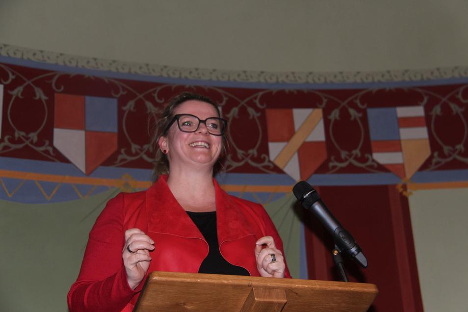Susane Schaper, Landesvorsitzende der Linken.