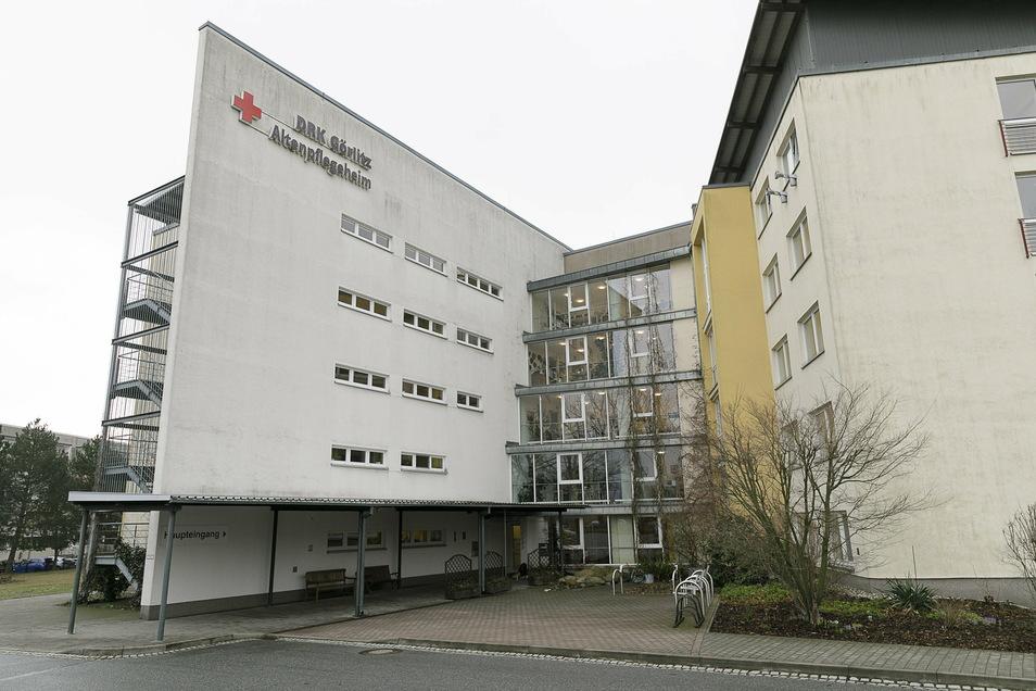 Das DRK-Altenheim in Görlitz-Königshufen.
