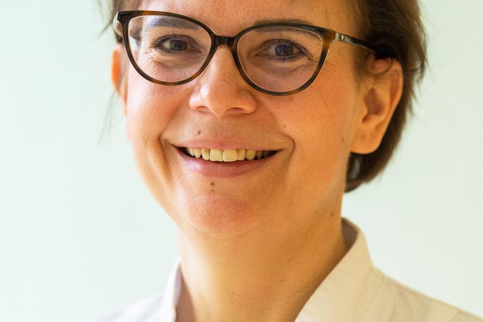 Seit Januar ist Dr. Birgit Hegewald Chefärztin in der Radeburger Klinik.